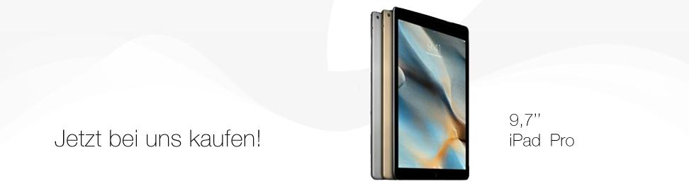 Jetzt das iPad Pro 9,7'' kaufen bei MobileBizz KG - better connected!
