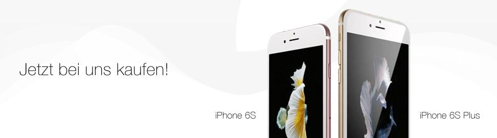 Jetzt das iPhone 6S/iPhone 6S Plus kaufen bei MobileBizz KG - better connected!
