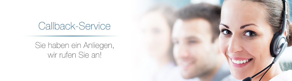 Sie haben ein Anliegen, wir rufen Sie an! Callback-Service bei MobileBizz KG - better connected!